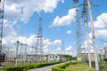 Free Electric Substation Royalty Free Stock Photo - 15477425