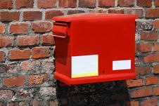 Free Red Post Box Stock Photography - 15470102