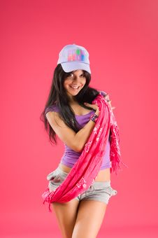 Free Hip Hop Dancer Stock Photo - 15470110