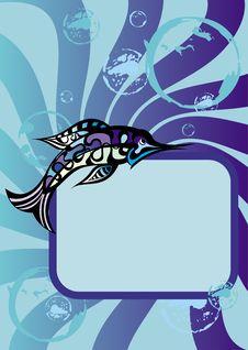 Free Sea Fish Frame Stock Photos - 15470693