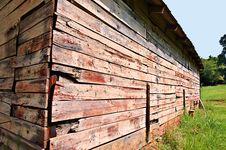 Corner Of An Old Barn Stock Image