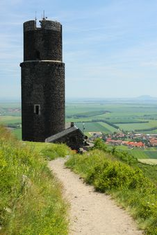 Medieval Castle Tower Stock Images