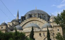 Free Dome Of Suleymaniye Mosque, Istanbul Stock Photos - 15471573