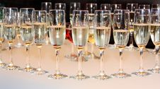 Free Champagne Glasses Royalty Free Stock Photo - 15471645