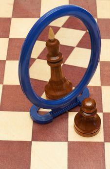 Free Pawn Vs King Stock Photos - 15471703