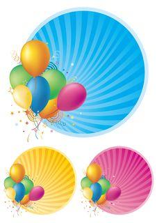 Free Balloons Stock Photo - 15471820