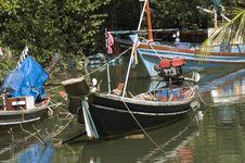 Free Long Tail Boats Royalty Free Stock Photos - 15471838