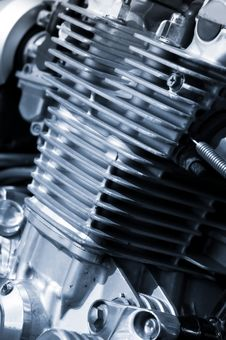 Free Motorcycle Engine Stock Image - 15471931