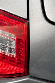 Free Tail Light Panel Royalty Free Stock Photo - 15471955