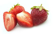 Free Ripe Strawberry Royalty Free Stock Photos - 15472448