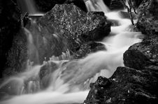 Free Scottish Waterfall 2 Royalty Free Stock Images - 15472579