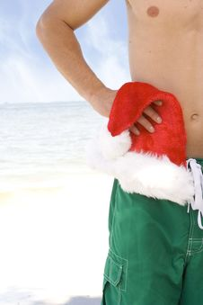 Free Beach Christmas Stock Photos - 15473343