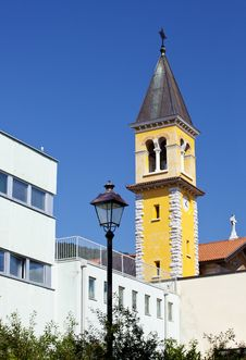 Free Bell Tower Of A Church Stock Photos - 15473413