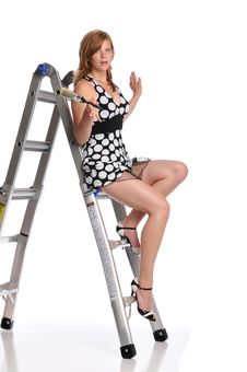 Young Pinup Girl Stock Image