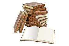 Free Antiquarian Books Royalty Free Stock Photos - 15474708
