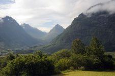 Stardalen Valley, Norway Stock Photos