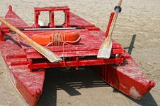 Free Pedalo On Sand Royalty Free Stock Photography - 15475197