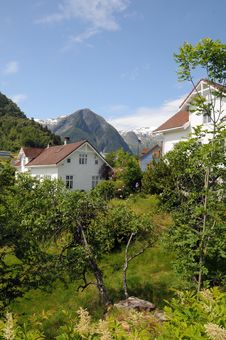 Free Balestrand Village, Norway Stock Images - 15475294