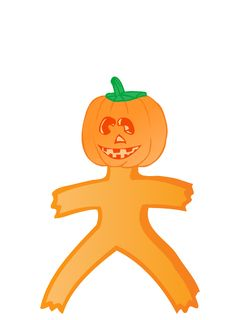 Free Vector Pumpkin Royalty Free Stock Photo - 15475775