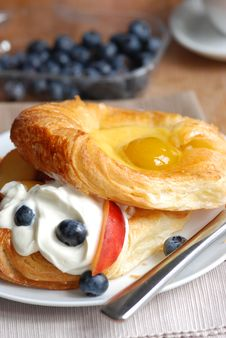 Fruit Danish Royalty Free Stock Photography
