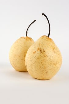 Free Two Pears Stock Photography - 15476582