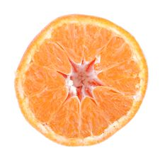 Free Half An Orange Stock Photo - 15476640