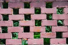 Wall From A Brick Royalty Free Stock Photography