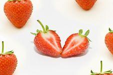 Free Fresh Strawberries Royalty Free Stock Photos - 15477588