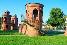 Free Tower From A Red Brick Stock Photography - 15477712