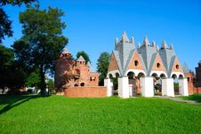 Free Input In The Small Castle Stock Photos - 15477973