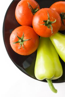 Free Tomatoes And Peppers Stock Photo - 15478030