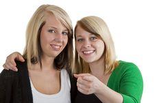 Girls Gossip Stock Photography