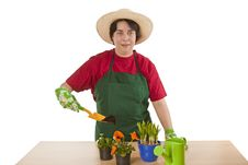 Free Gardener Royalty Free Stock Photography - 15478077