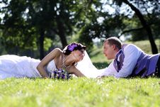 Free Bride And Groom Royalty Free Stock Photography - 15478327
