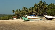 Free Boats On A Beach Stock Photos - 15478613