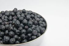 Free Bowl Of Blueberries Stock Photography - 15478722