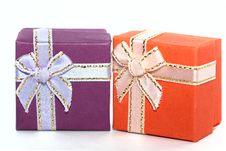 Free Two Gift Boxes Stock Photos - 15479093