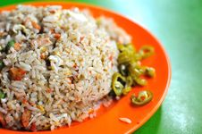 Free Fried Rice With Chili Royalty Free Stock Image - 15479316