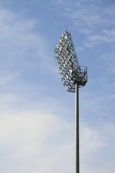 Free Stadium Lamps Stock Photography - 15479382