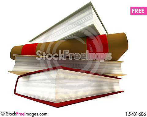 Free Pile Of Books Royalty Free Stock Image - 15481686