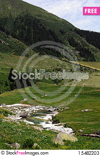Free River In Graubuenden Stock Photos - 15482203
