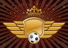 Free Soccer Emblem Royalty Free Stock Photography - 15480547