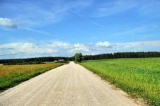 Free Rural Road. Royalty Free Stock Photos - 15480578