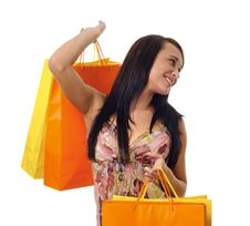 Free Shopaholic Stock Photography - 15481212