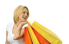 Free Blonde Shopper Stock Photos - 15481223