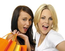 Free Best Friends Go Shopping Stock Images - 15481244