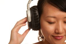 Free Woman Listening To Music Stock Photography - 15481642