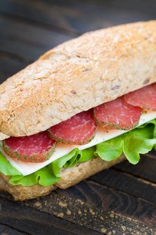 Free Sandwich Royalty Free Stock Photos - 15484878