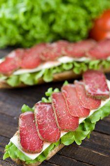 Free Sandwich Stock Photo - 15484920