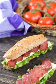 Free Sandwich Royalty Free Stock Photo - 15484975
